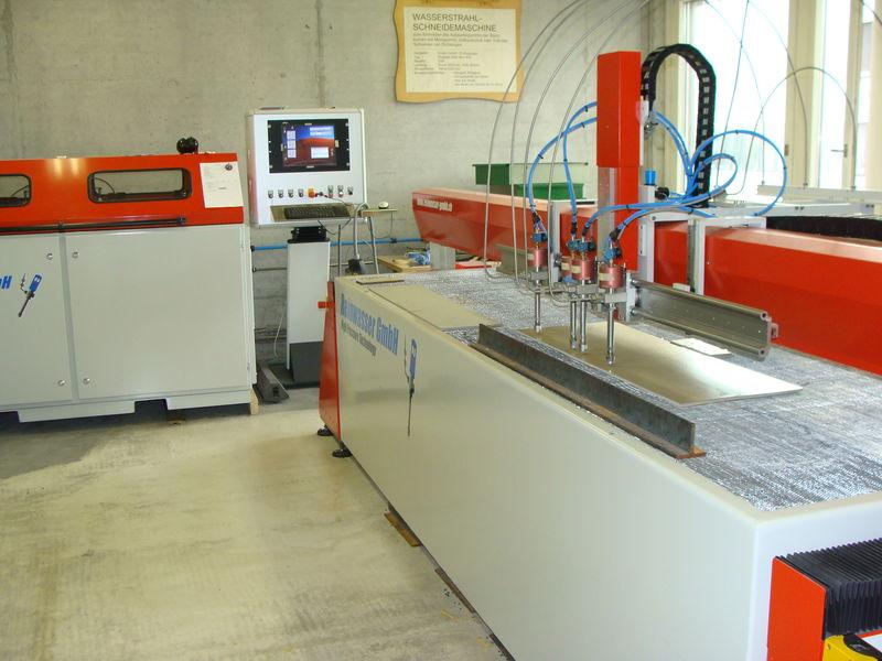 Water jet cutting machine Production machine